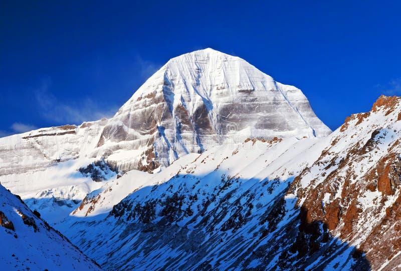 Sakrala Mount Kailash, Tibet royaltyfria foton