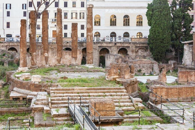 Sakralt område för romare arkivfoton
