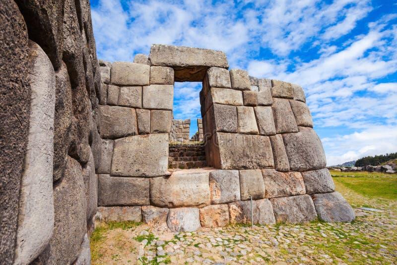 Saksaywaman i Cusco royaltyfri foto