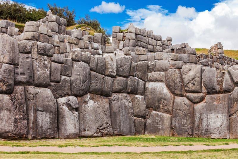 Saksaywaman i Cusco royaltyfria bilder
