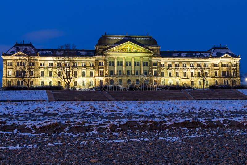 Saksisch Ministerie van Financiën, Dresden stock fotografie