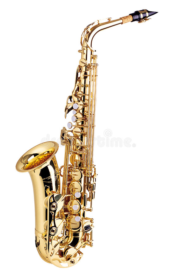 saksofon zdjęcie stock