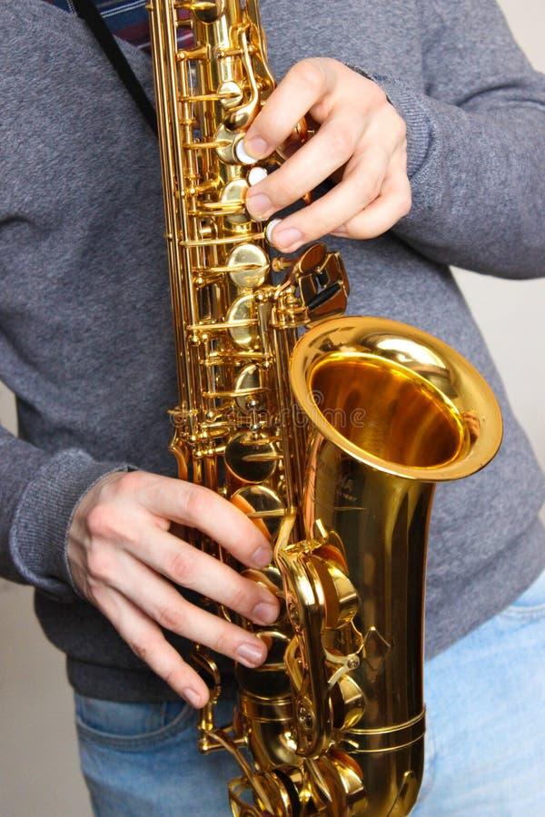saksofon obraz stock