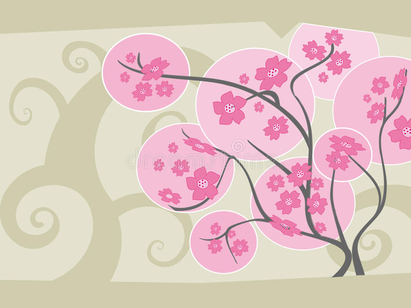 Download Sakura stock vector. Image of blossom, colours, beauty - 11716656