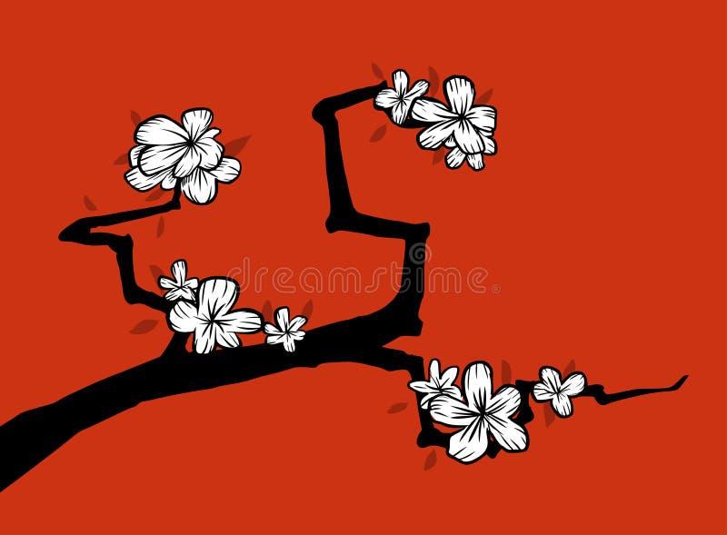 sakura royalty ilustracja