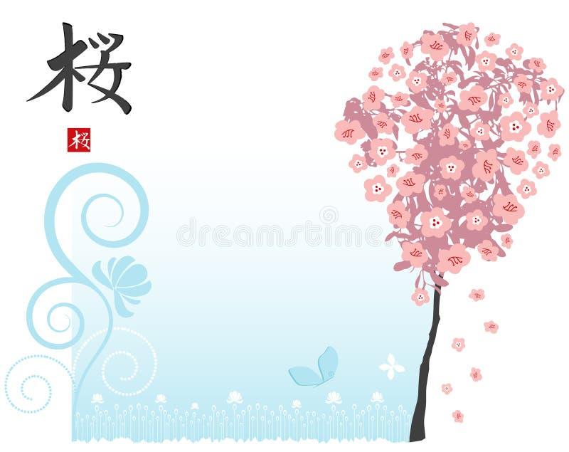 sakura ilustracji