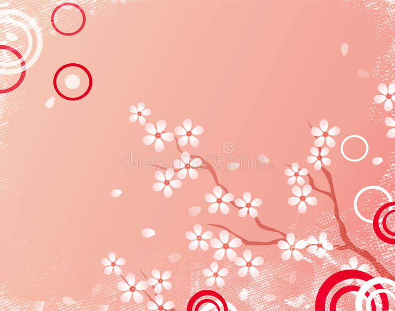 Download Sakura background stock illustration. Illustration of life - 1330354