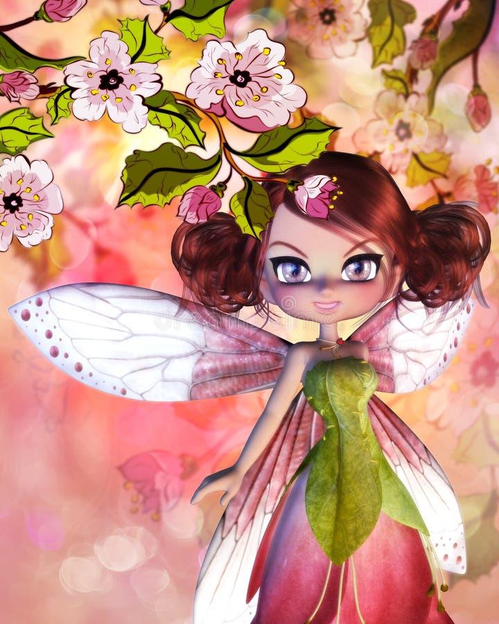 Sakura Fairy ilustração do vetor