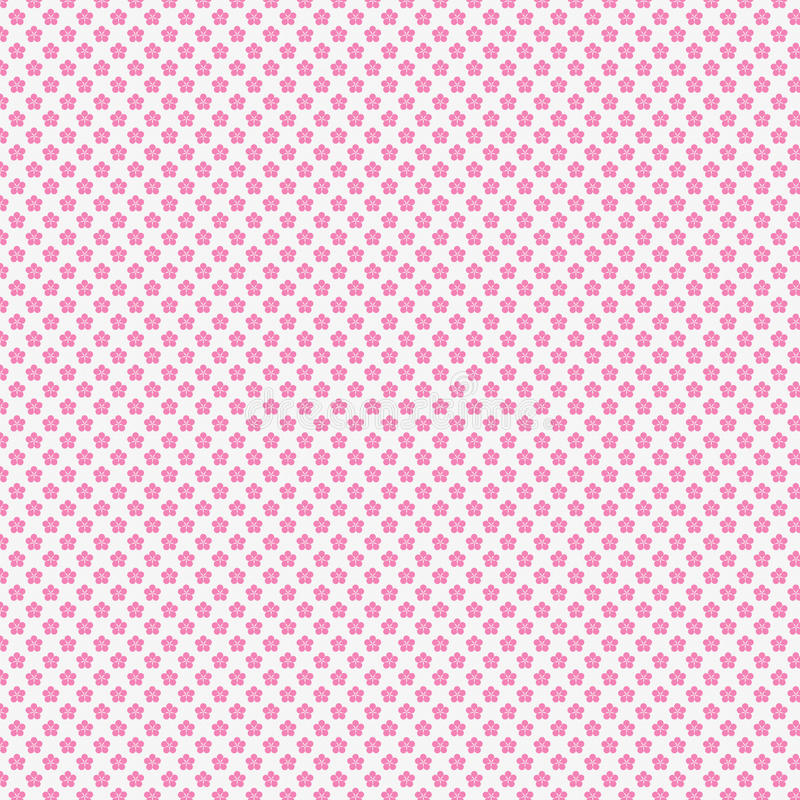 Sakura Pattern ilustração do vetor