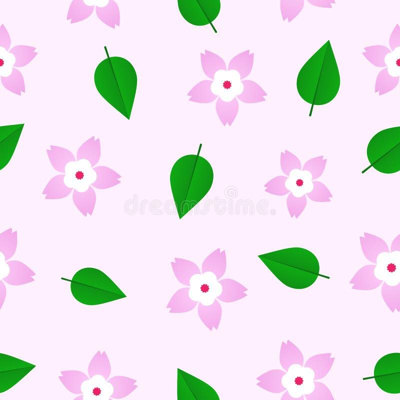Sakura Pattern foto de stock