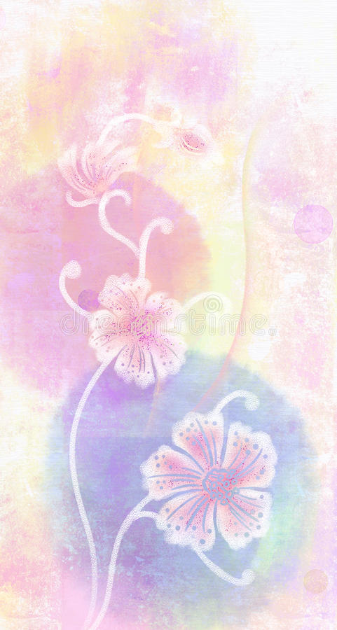 Sakura rose illustration libre de droits