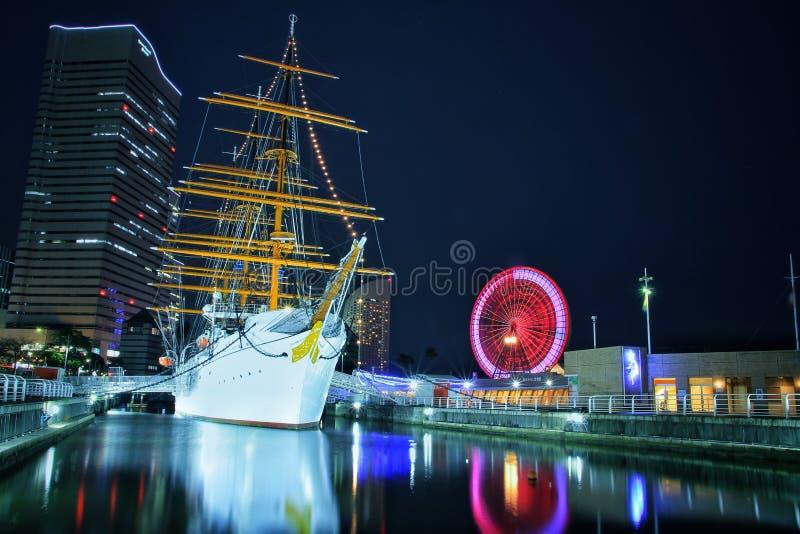 Sakuragichou Yokohama Giappone immagini stock libere da diritti