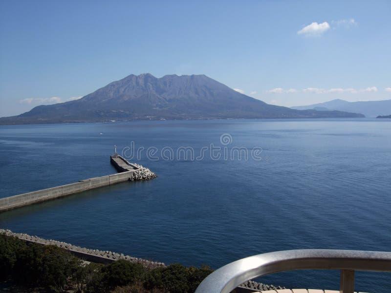 Sakurajima immagini stock libere da diritti