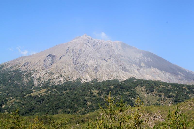 Sakurajima fotografia stock libera da diritti