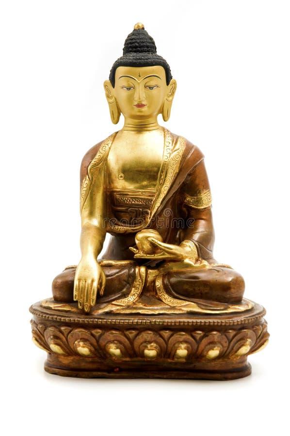 Sakyamuni Buddha stockbilder