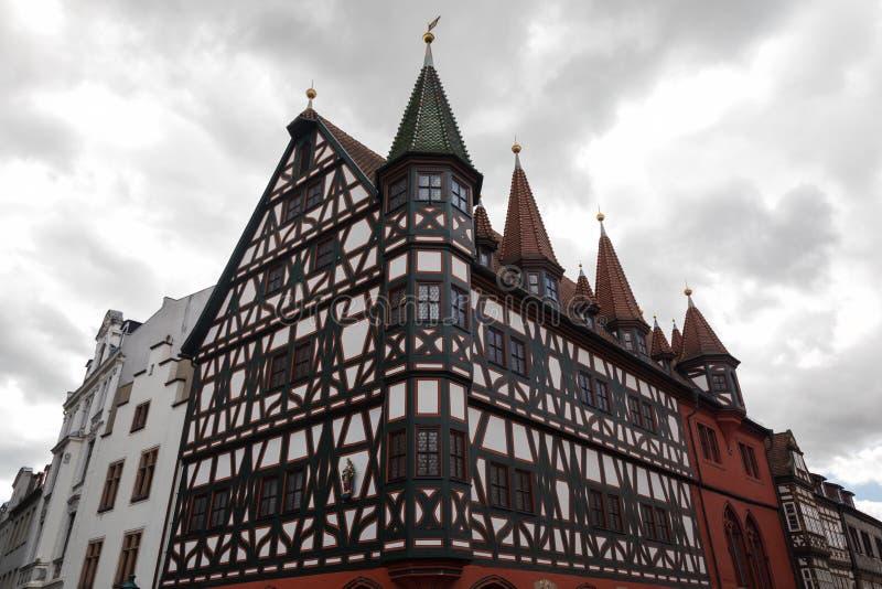 Salão cívico velho de Fulda fotos de stock