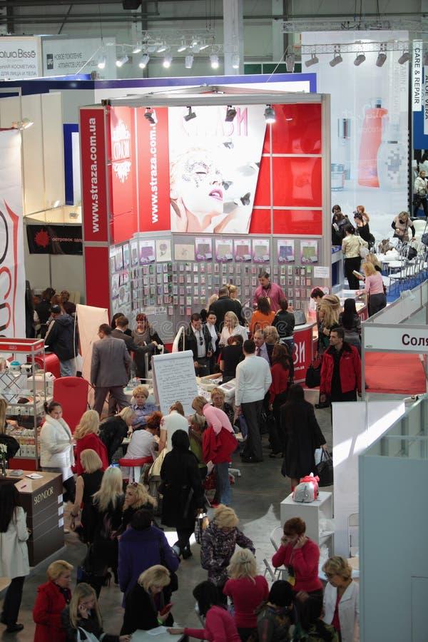 Salão da exposição. imagem de stock