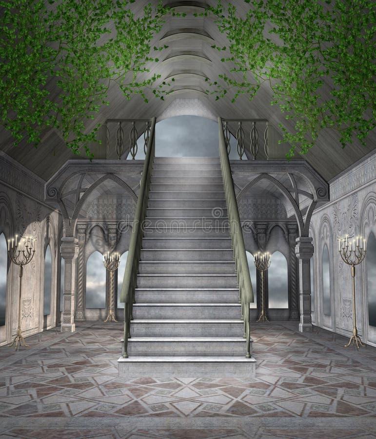Salão da fantasia ilustração do vetor