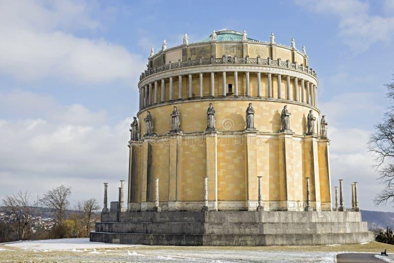 Salão da libertação, Alemanha foto de stock royalty free
