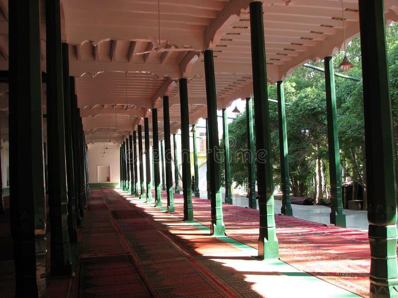 Salão da oração, mesquita da identificação Kah em Kashgar China fotos de stock royalty free