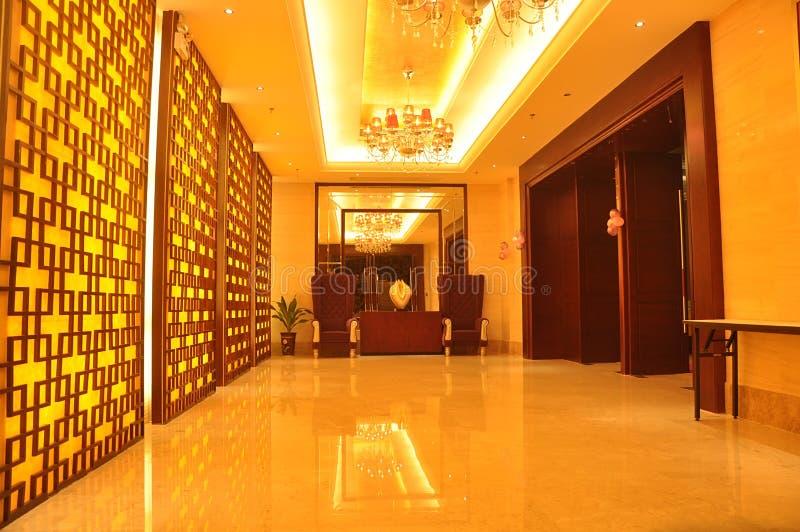 Salão da recepção imagem de stock royalty free