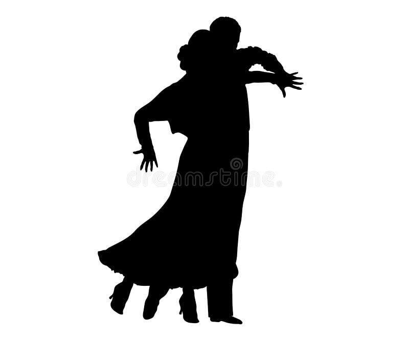 Salão de baile 6 ilustração royalty free