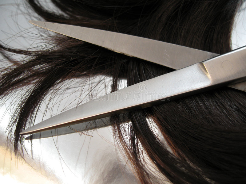 Salão de beleza 2 do cabelo fotografia de stock royalty free