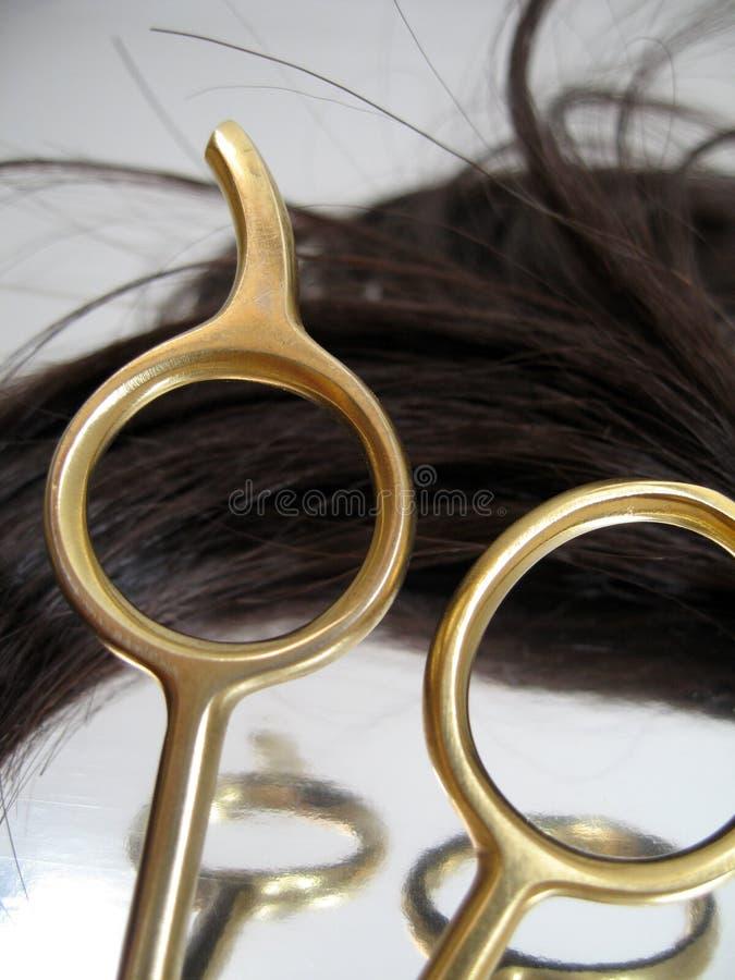 Salão de beleza 4 do cabelo imagens de stock royalty free