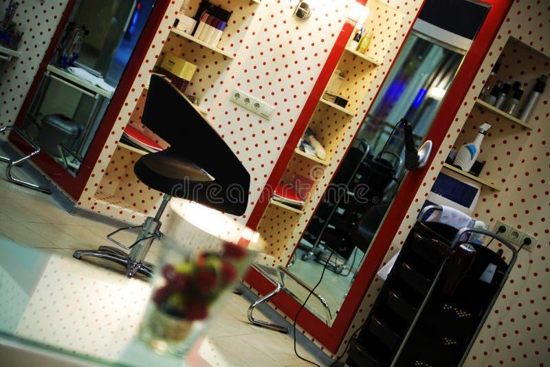 Salão de beleza do Hairdressing fotografia de stock royalty free