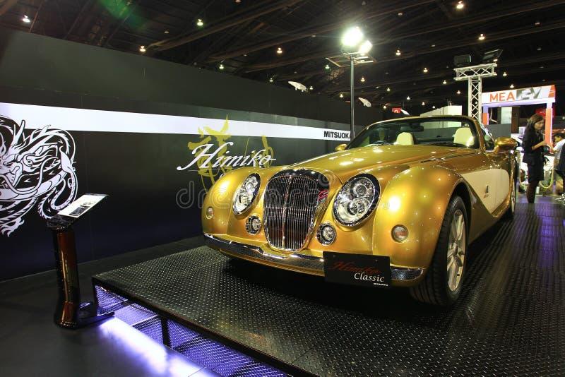 Salão de beleza luxuoso do automóvel de Banguecoque do carro de Mitsuoka imagens de stock