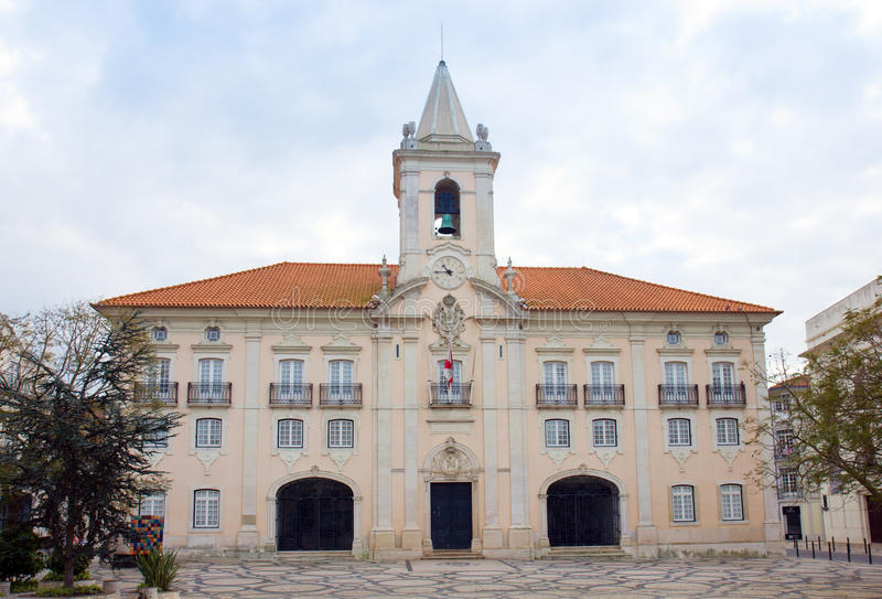 Salão de cidade de Aveiro, Portugal imagens de stock royalty free