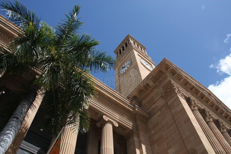 Salão de cidade de Brisbane foto de stock royalty free