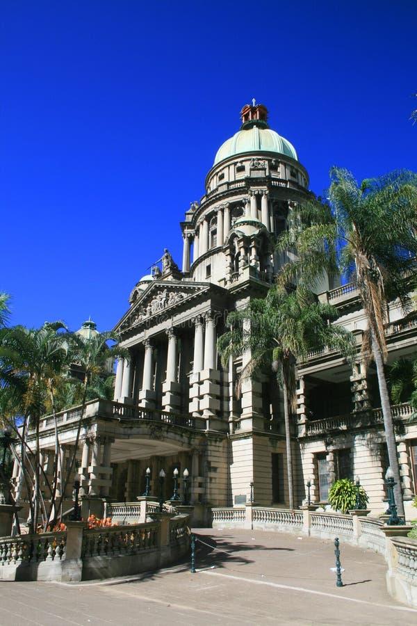 Salão de cidade de Durban foto de stock royalty free