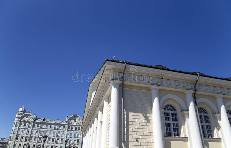 Salão de exposição central Manege de Manege em Moscou R?ssia foto de stock