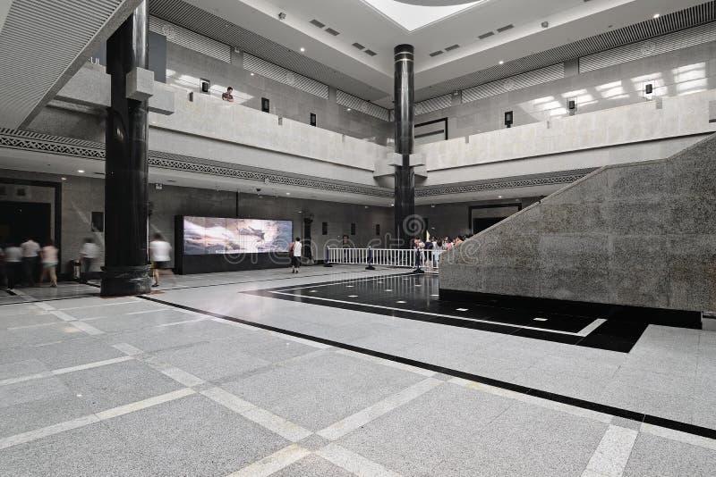 Salão de exposição de Xian China-The imagem de stock