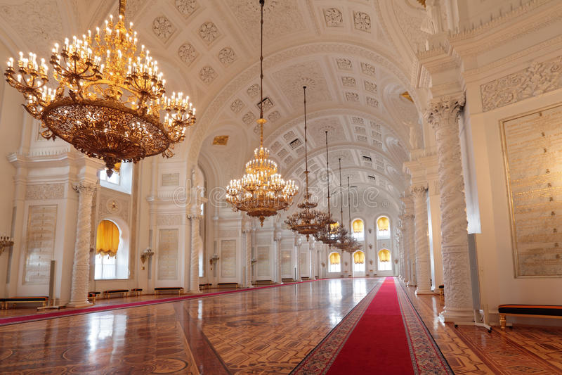 Salão de Georgievsky fotografia de stock royalty free