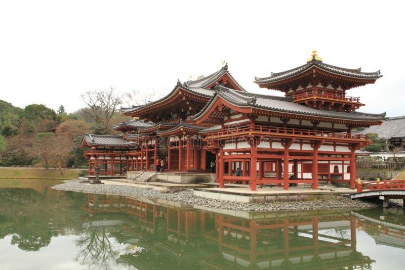 Salão de Phoenix do templo de Byodoin imagens de stock royalty free