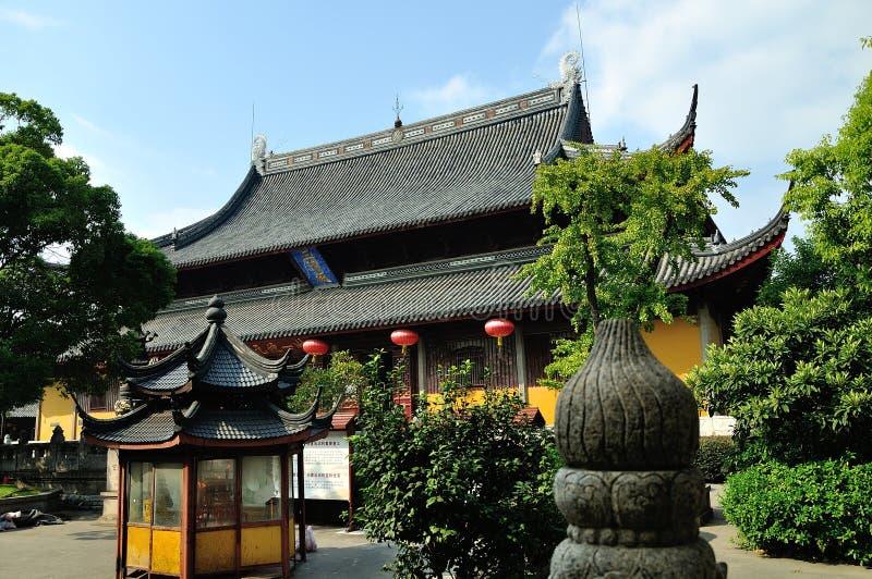 Salão de Sanqing fotos de stock