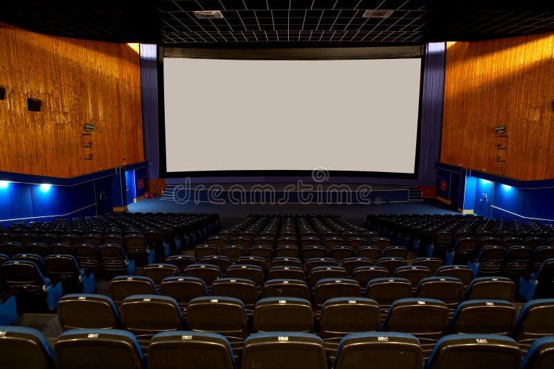 Salão de um cinema imagens de stock
