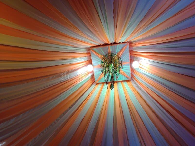 Salão decorado da união de Assam imagem de stock