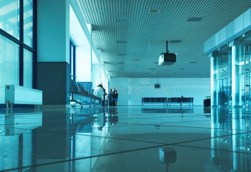 Salão do aeroporto foto de stock