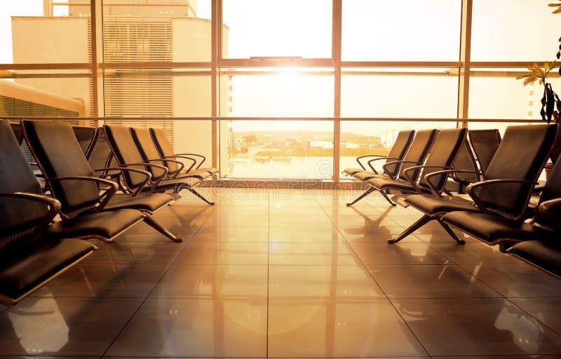Salão do aeroporto fotos de stock royalty free