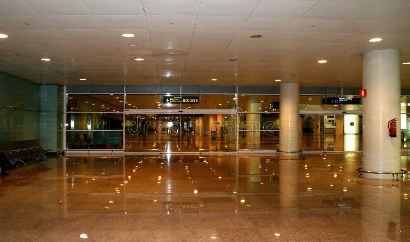 Salão do aeroporto fotografia de stock