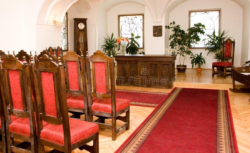 Salão do casamento imagem de stock royalty free