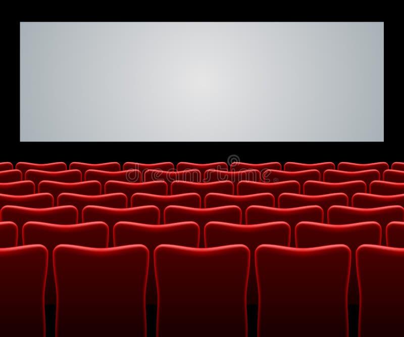 Salão do filme ilustração royalty free