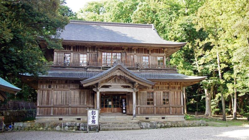 Salão do museu do taisha de Izumo fotografia de stock