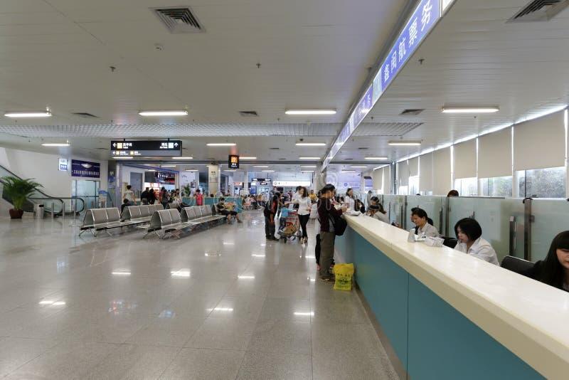 Salão do serviço de Xiamen e de terminal de balsa dos jinmen imagens de stock royalty free