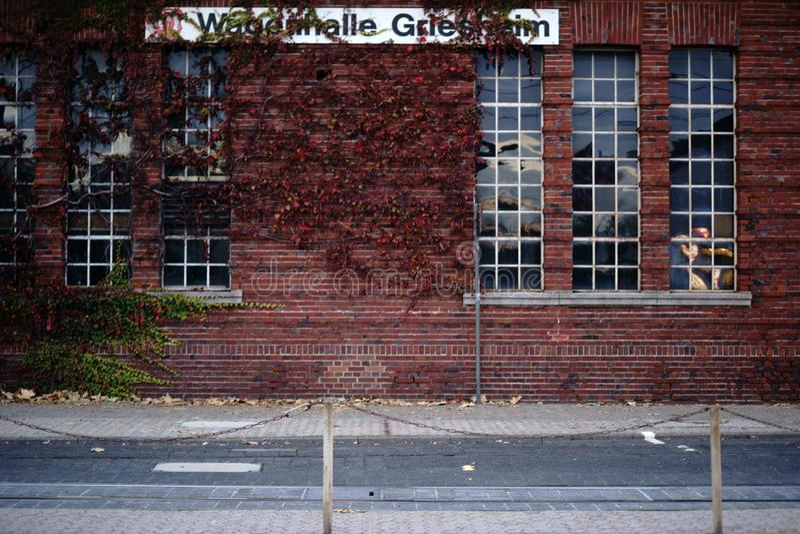 Salão Griesheim do vagão fotografia de stock royalty free