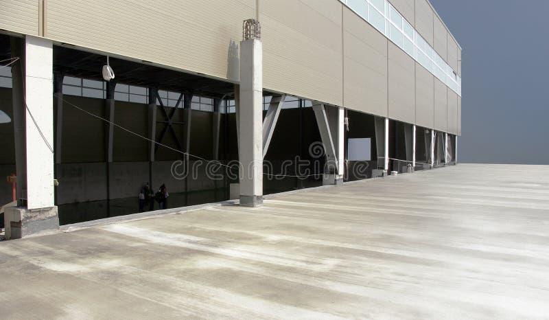 Salão industrial fotografia de stock