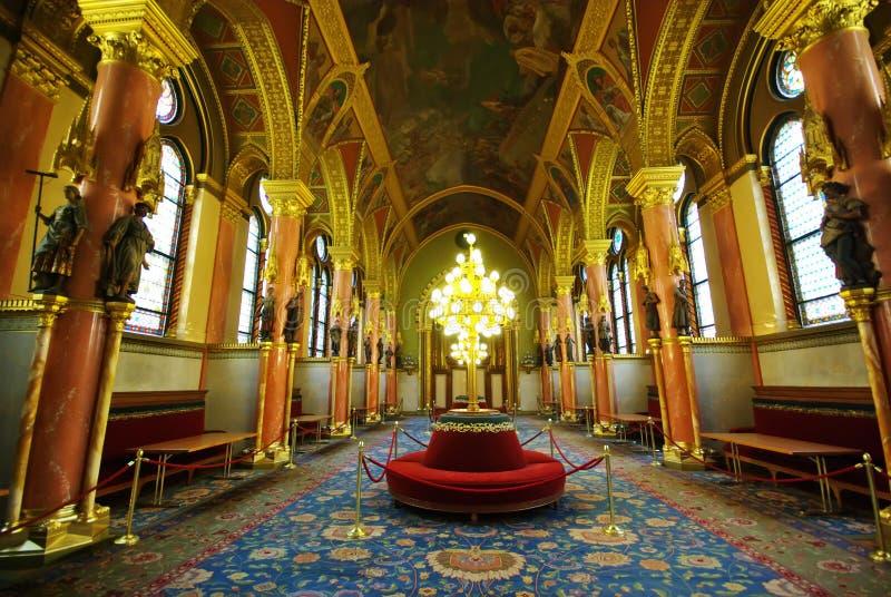 Salão luxuoso fotos de stock